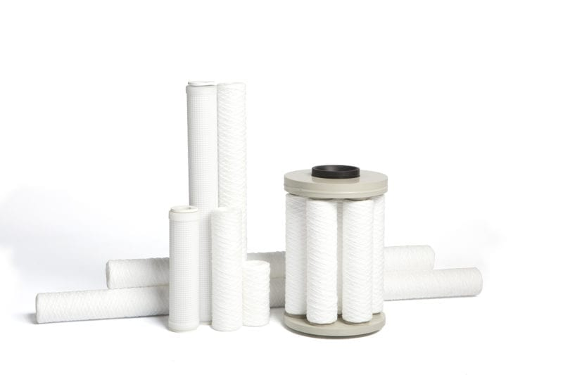 Filterkaarsen voor chemische- galvanische vloeistoffen